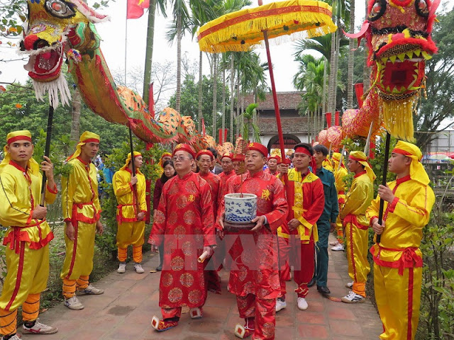 The seal ceremony of Tran Temple in Nam Dinh City 1