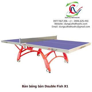 Bàn bóng bàn Double Fish X1