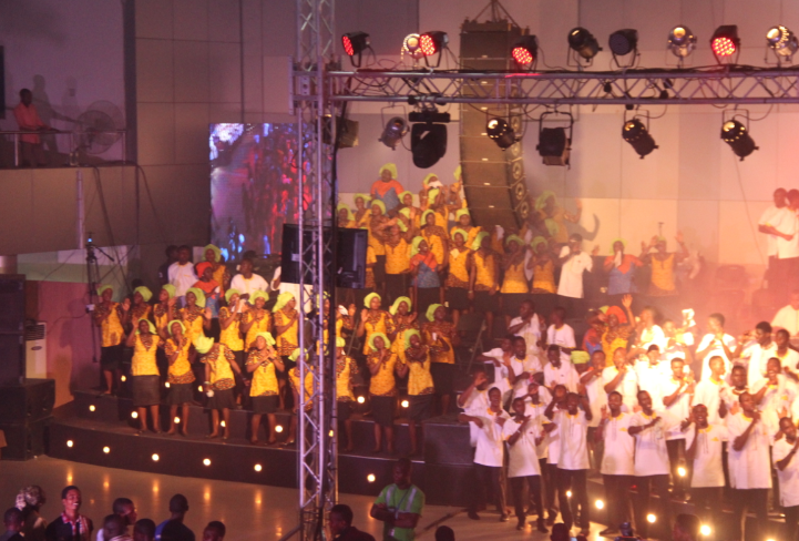 RCCG Youths break world record again with their 74 hours marathon
