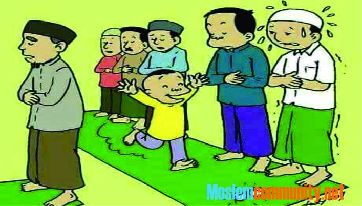 Jika kalian tidak lagi Mendengar Riang tawa dan Gelak bahagia anak-anak di masjid - masjid, Maka Waspadalah... Sa'at itu kalian dalam Bahaya