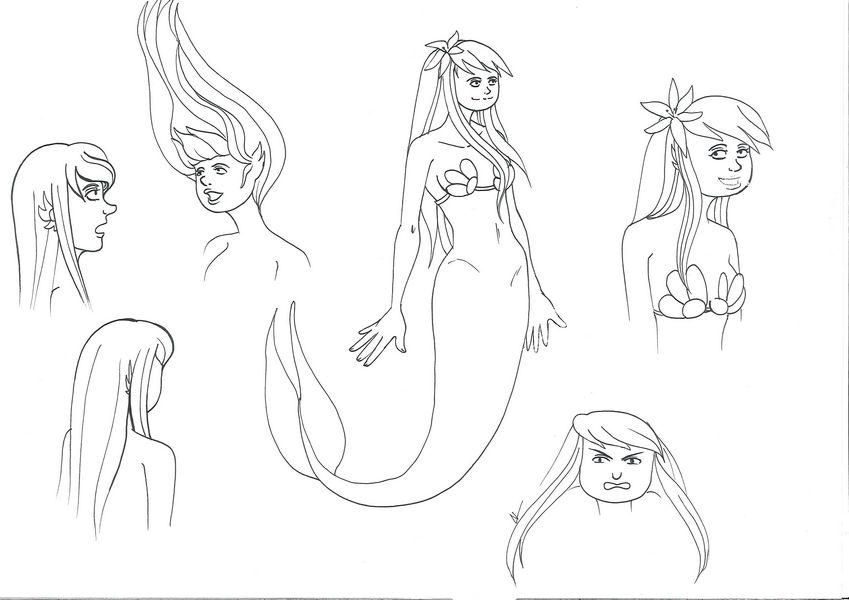 [En pause][Projet BD] La petite sirène Sirene_recherche03