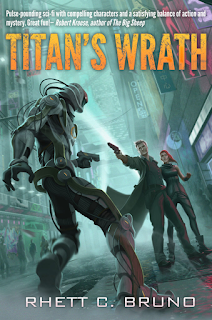 Titan's Wrath on Goodreads, Rhett C. Bruno, TBR
