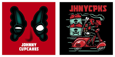 Deadpool 2 T-Shirt Collection by Johnny Cupcakes x Marvel
