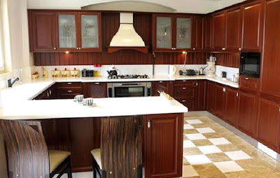 interior kitchen set