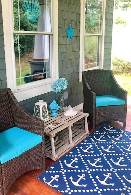 Anchor Rug Porch