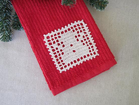 Miss Abigail's Hope Chest: Christmas Filet Crochet