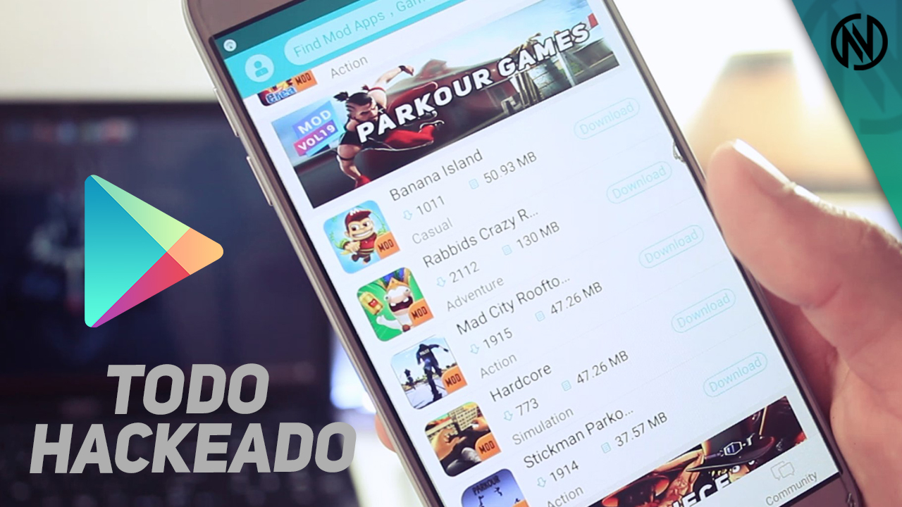 Toda La Play Store Hackeada Descargar Mobpark Novatechoficial