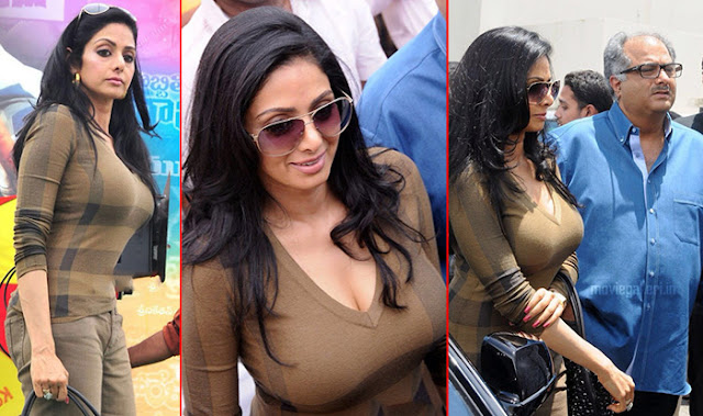 OOPS! Sridevi grabs attention