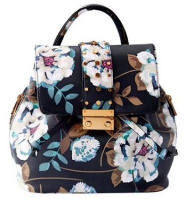 Love and Lore Georgia Stud backpack floral