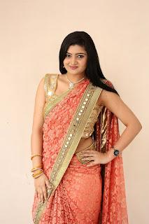 Akshitha at Prasnistha Movie First Look Launch Press Meet