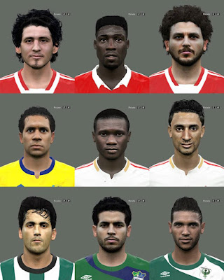 PES 2016 Egypt League Facepack by Elmodamer