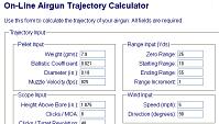 Cálculo de trayectoria, cálculo básico de balística