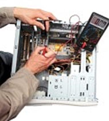 Gambar teknik cara menganalisa kerusakan komputer