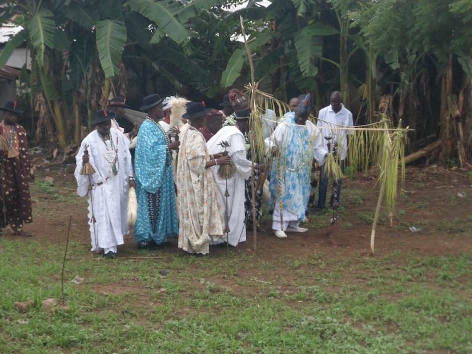 ogboni ooni burial