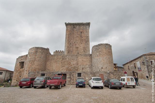 Castillo Miranda Castañar turismo Salamanca Sierra Francia