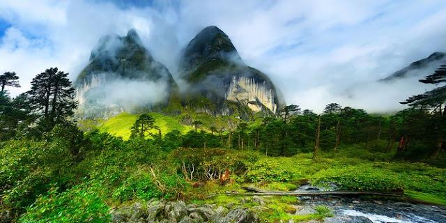 travel, nepal, lembah, tempat indah