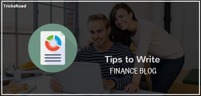 How to Write Financial Blogs