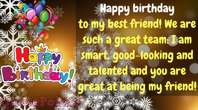 funny birthday wishes for female friend