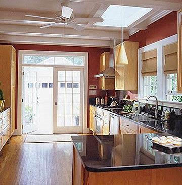 interesting red kitchen cabinet ideas | Modern Furniture: Red Kitchen Decorating Ideas 2012