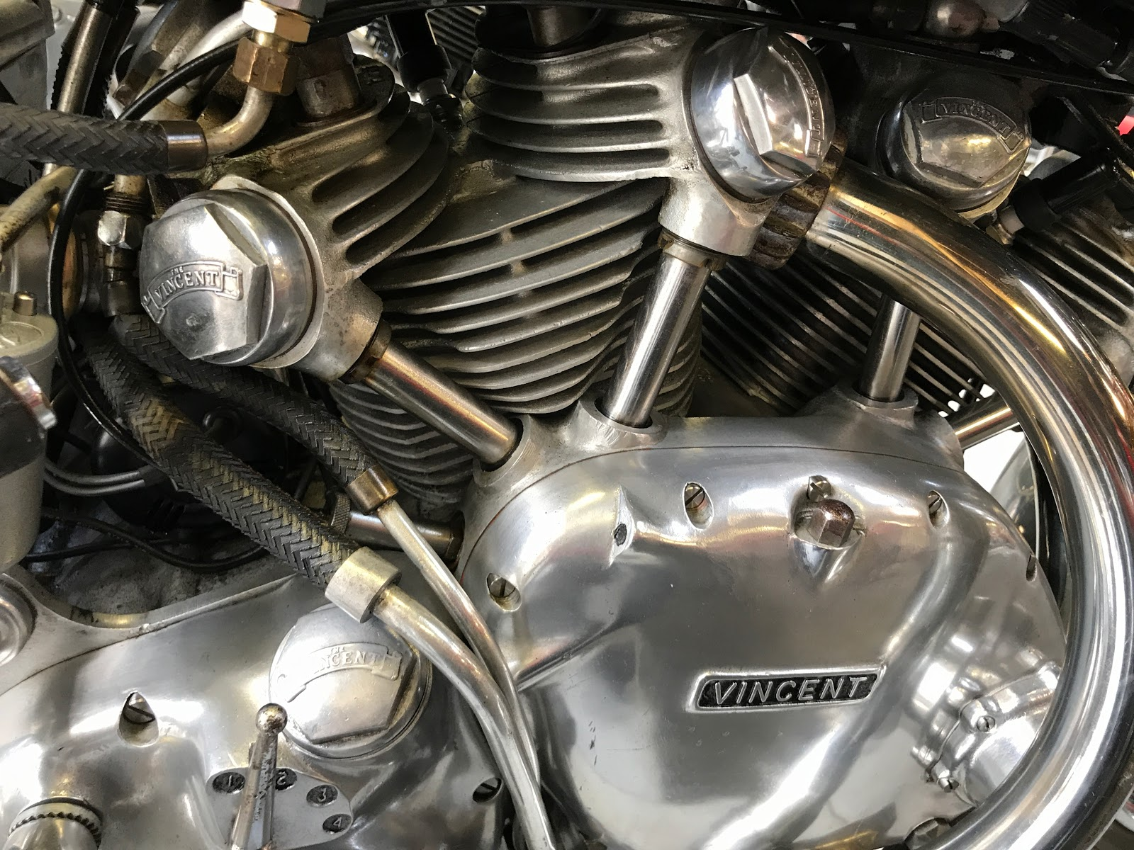 NYDUCATI presents Billy Joel's 20th Century Cycles Vincent Rapide Engine