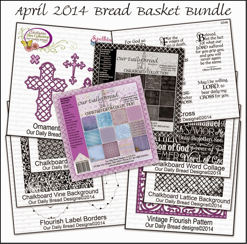 Stamps - Our Daily Bread Designs April 2014 Bread Basket  Bundle