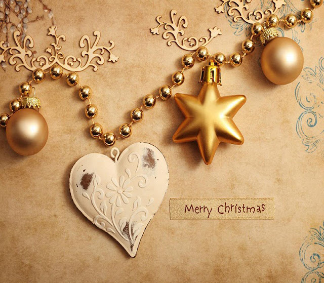 merry christmas love star wallpaper hd