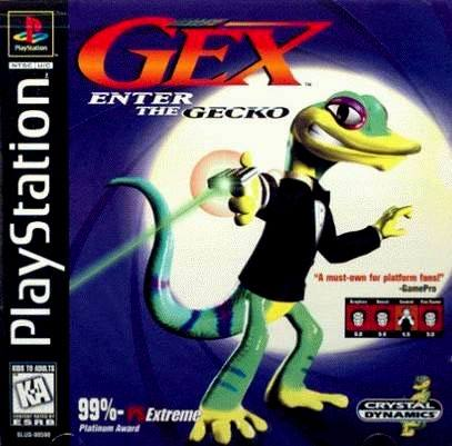 Gex - Enter The Gecko - PS1 - ISOs Download