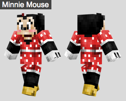 26. Minnie Mouse Skin