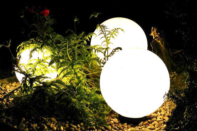Ilustrační foto - osvětlení do zahrady