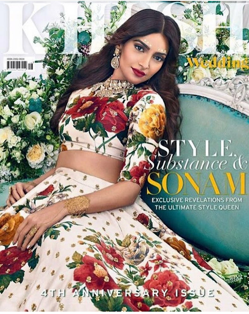 Sonam Kapoor Covers Khush Magazine