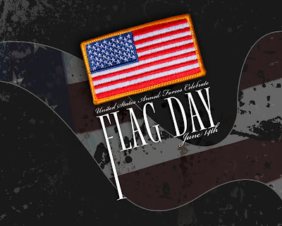 Flag Day  Wallpaper June 14th