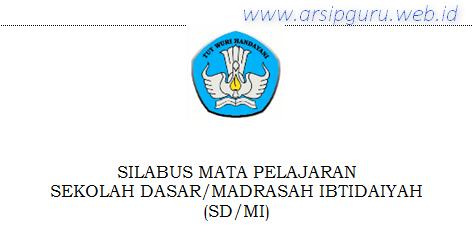 Silabus Ips Sd Mi Kurikulum 2013 Revisi Terbaru 2018 2019 Kelas 4 5 6 Dokumen Pengajaran Guru