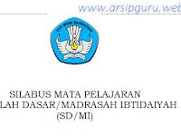 Kumpulan Silabus SD/MI K13 Revisi Terbaru 2018/2019