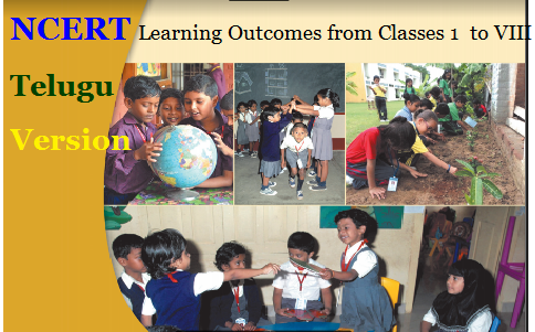 NCERT Learning Outcomes from Classes 1  to VIII Telugu Version 1