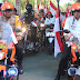 Benhur Tomi Mano dan Gustav Urbinas Pimpin Pawai HUT RI ke 73 di Jayapura