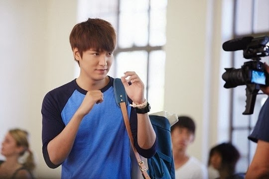The Heirs set of BTS photos of past episodes revealed