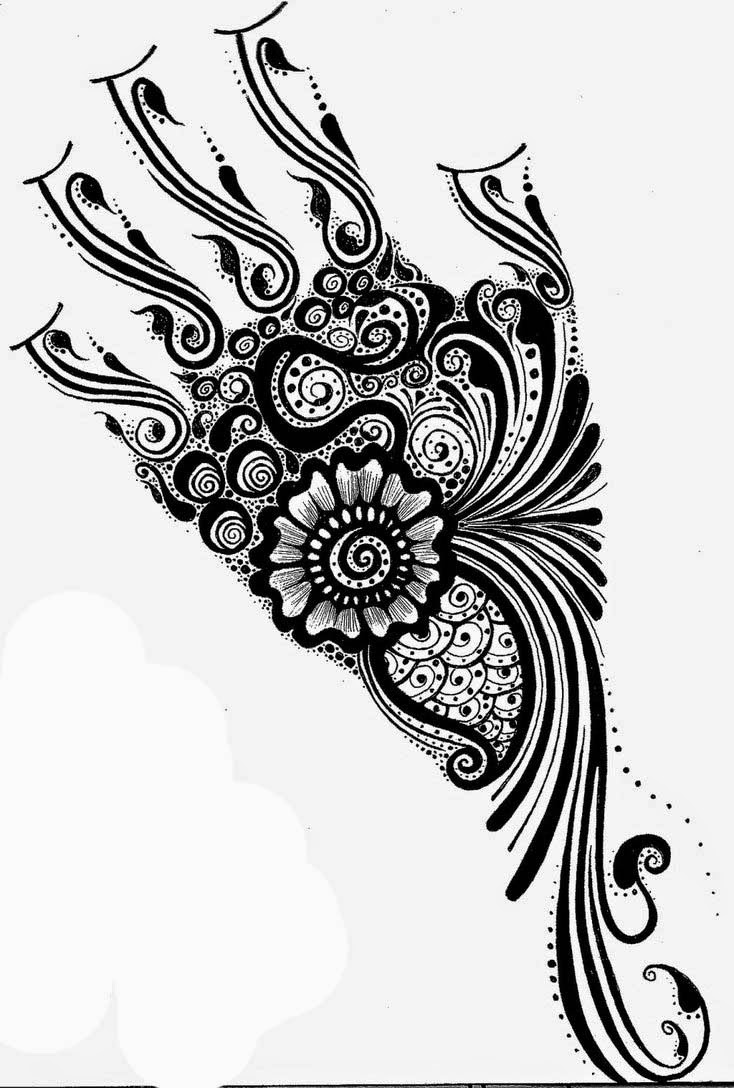 Henna Stencils: Henna Designs 2014 Tattoo Designs Hair Dye Designs For