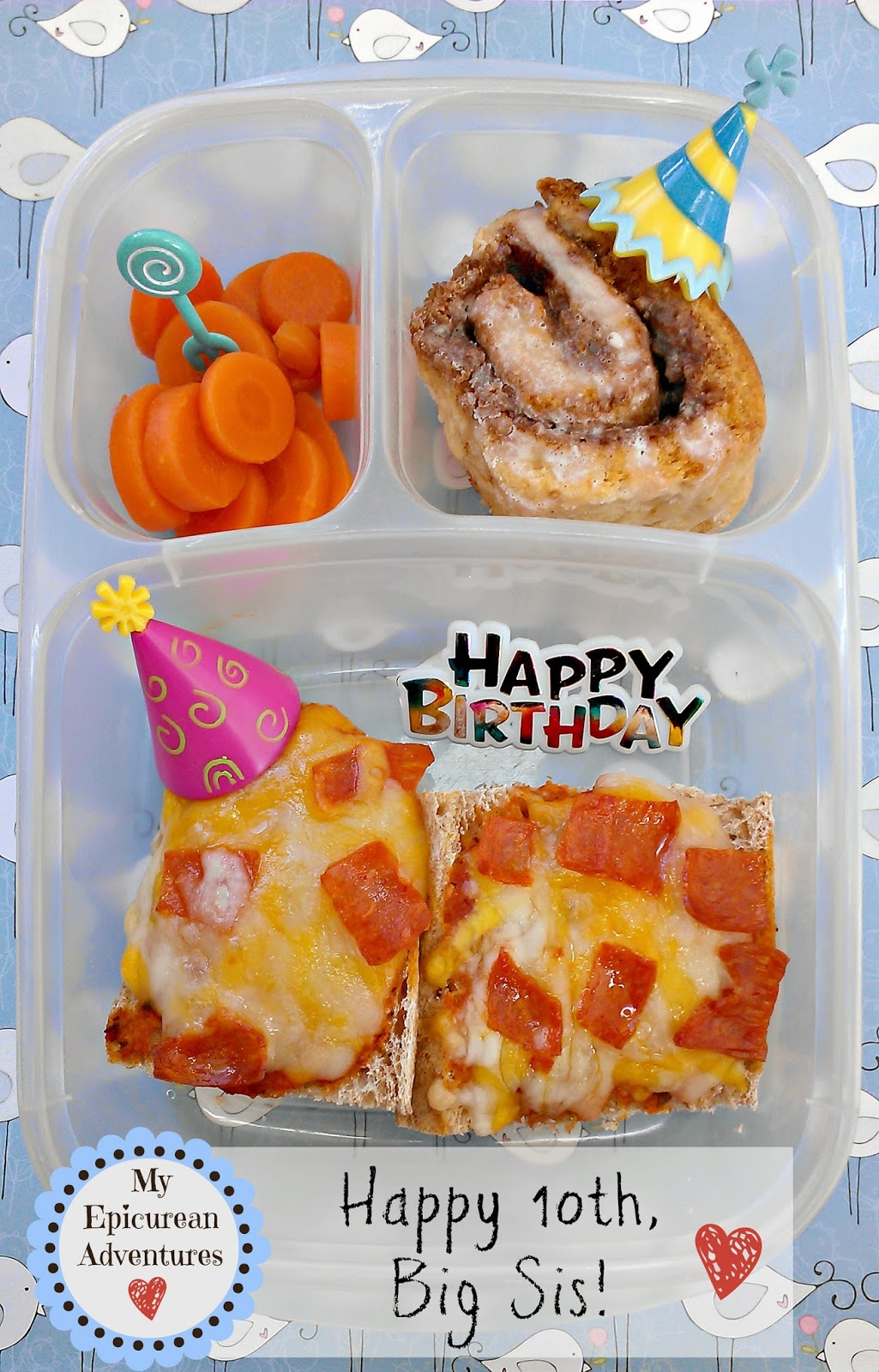 My Epicurean Adventures: Big Sis' 10th Birthday Lunch @Easylunchboxes
