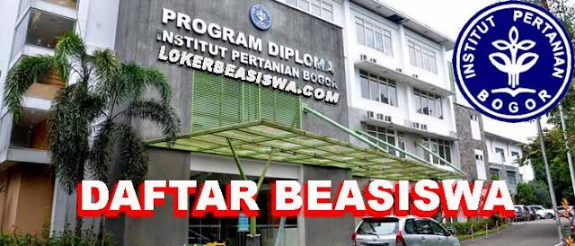 Daftar Beasiswa Institut Pertanian Bogor