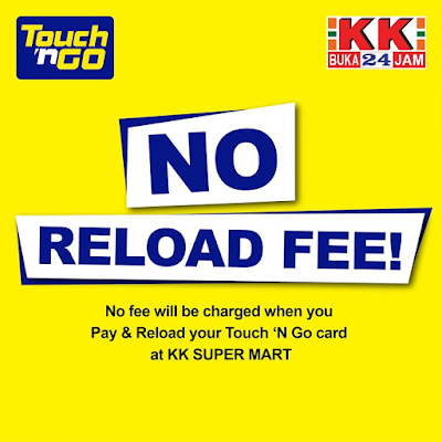 Free Touch n Go Card Reload KK Super Mart