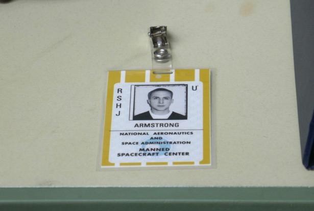 Ryan Gosling First Man Armstrong NASA ID prop