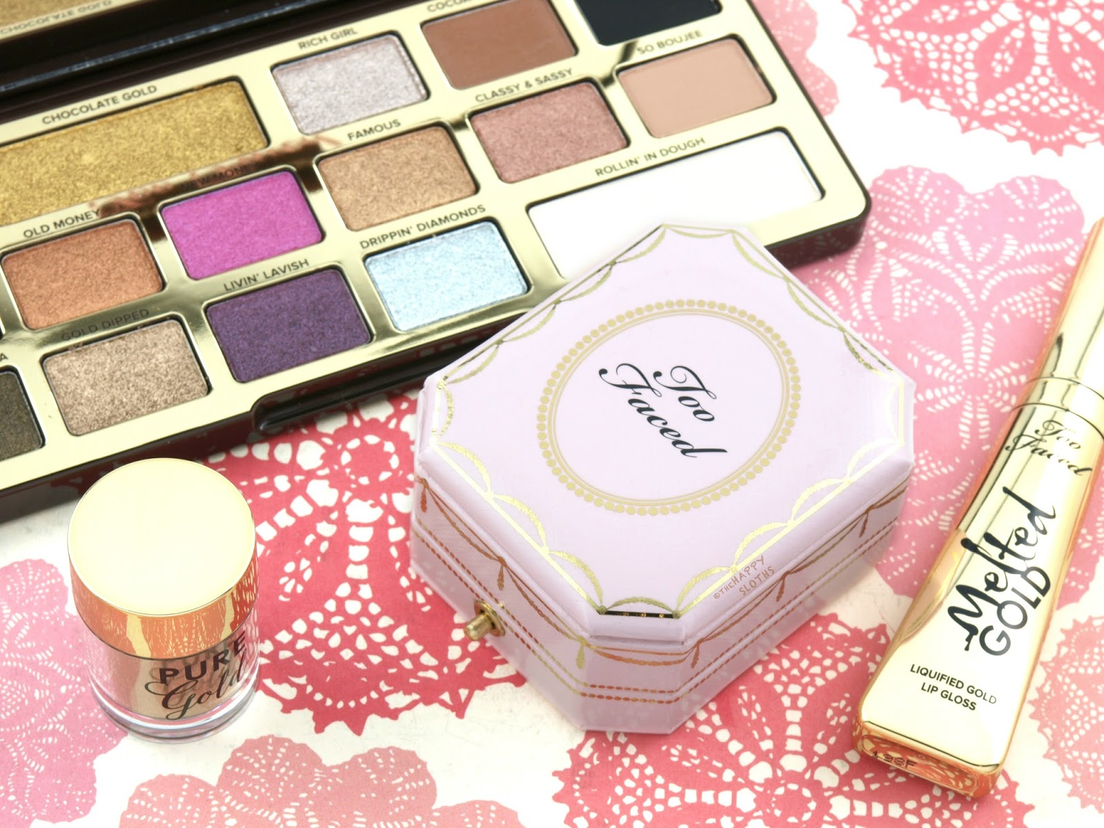 Too Faced Diamond Light Highlighter: Review and Swatches
