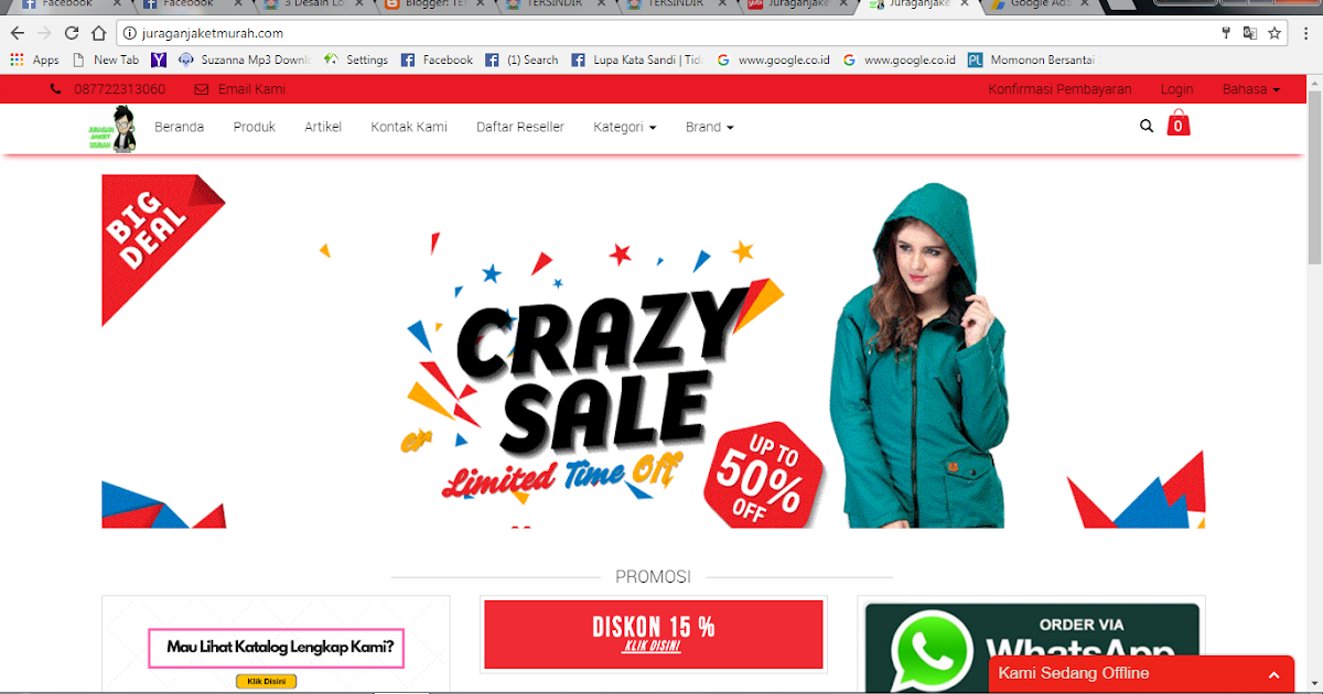 Online shopping indonesia