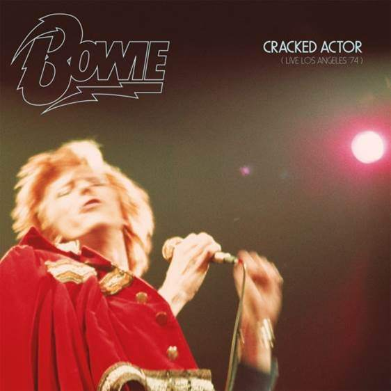 Portada del disco 'Cracked Actor - Live Los Ángeles '74', de David Bowie