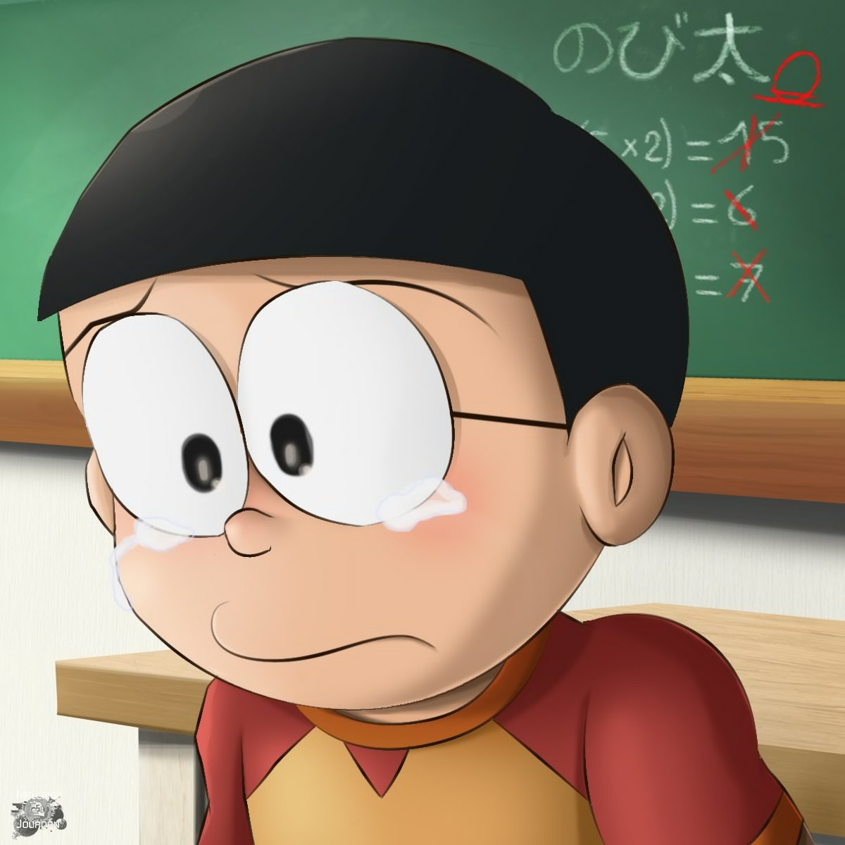 Sad Crying Girl Wallpaper Hd Doraemon Nobita And Friends Wallpaper 4k Images And Facts