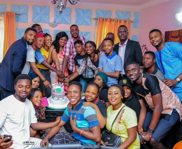 Actress Eniola Ajao Gets A Surprise Birthday Party