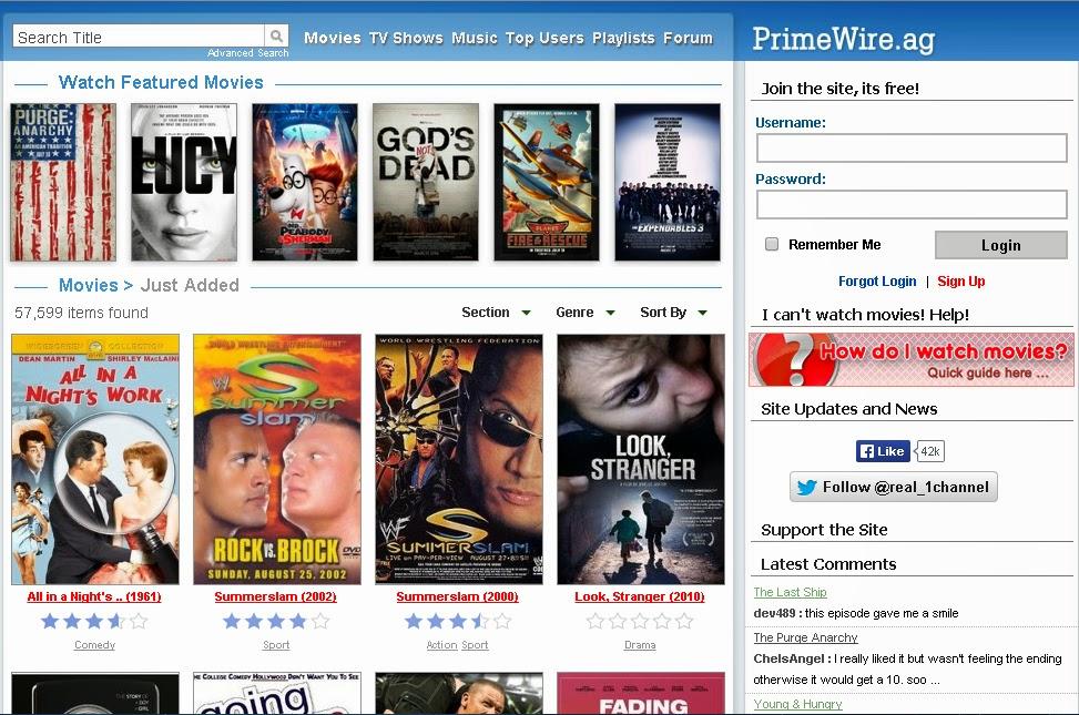 PrimeWire Watch Movies