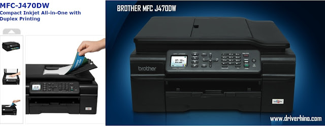 Brother MFC J470DW Driver for Windows