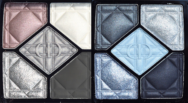 dior 5 couleurs eyeshadow palette quint swatches review provoke defy