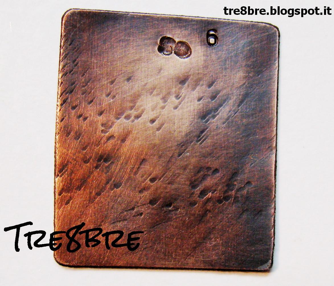 Guida sulle patine di Rame e Ottoni su http://tre8bre.blogspot.it